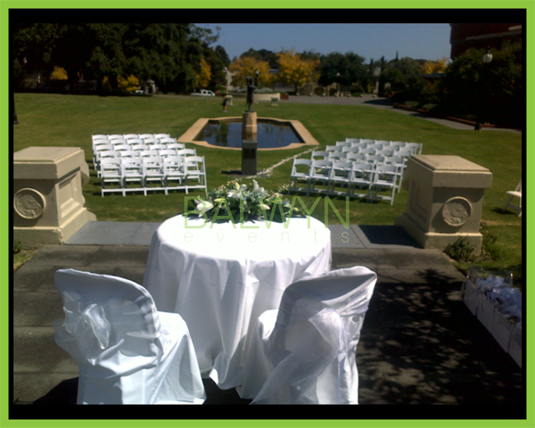 outdoor ceremony a