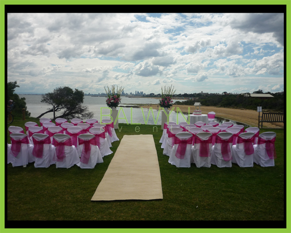 outdoor ceremony i