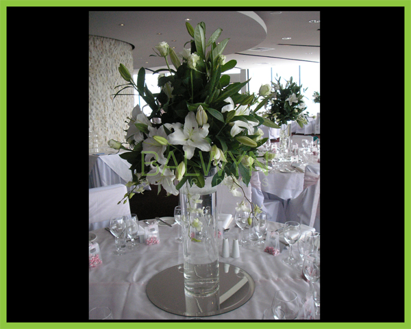 table flowers e